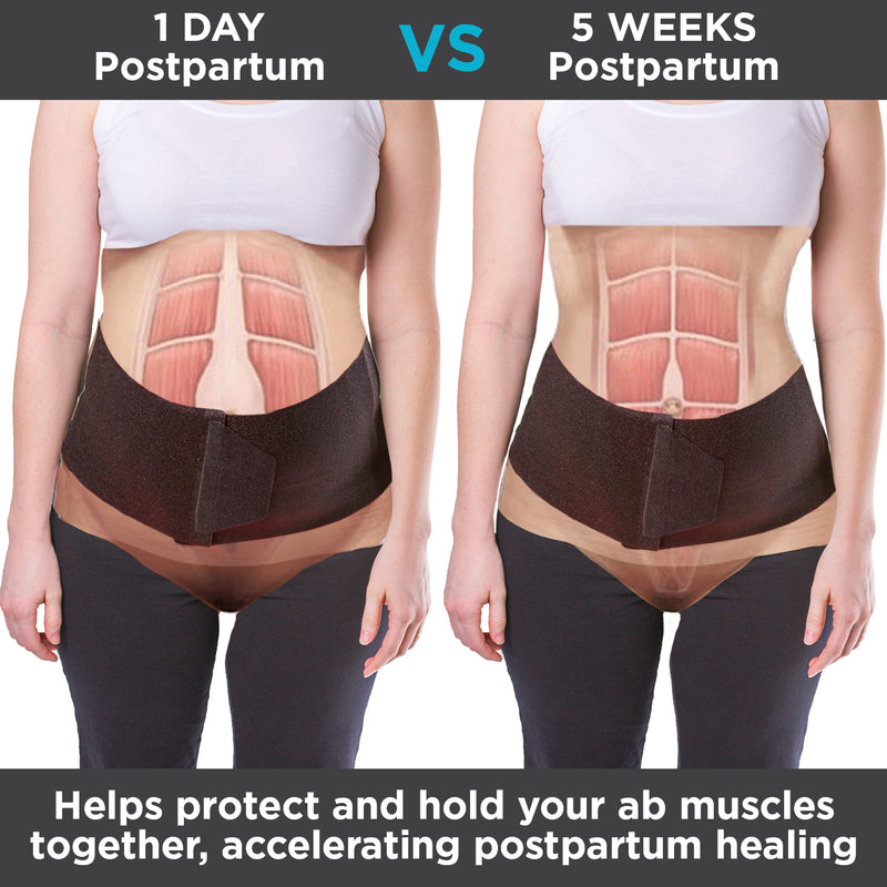 After pregnancy stomach wrap helps protect and hold your ab muscles together, accelerating postpartum healing