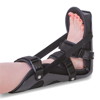 Plantar fasciitis and achilles tendonitis night splint for sleeping