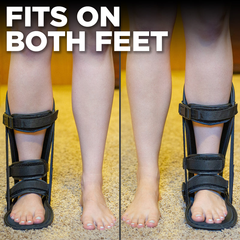 our achilles tendonitis night brace can be used on right or left foot