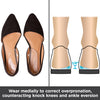wear these shoe inserts to correct overpronation and counteract knock knees