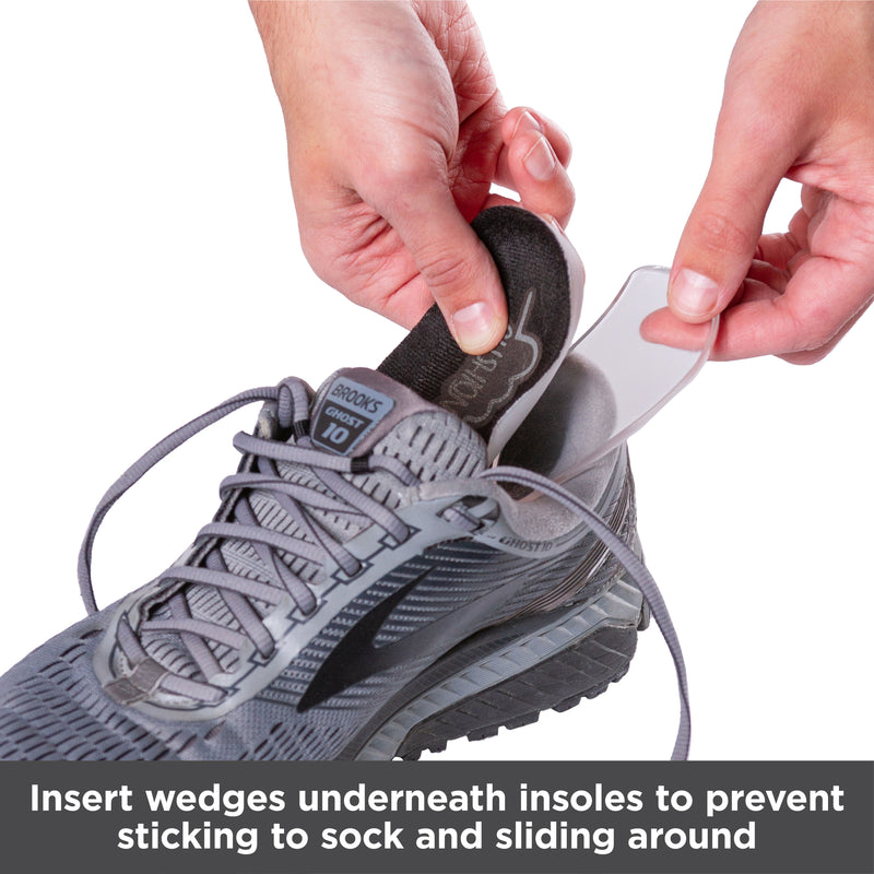 Medial & Lateral Heel Wedge Inserts for Overpronation or Supination Correction (Pair)