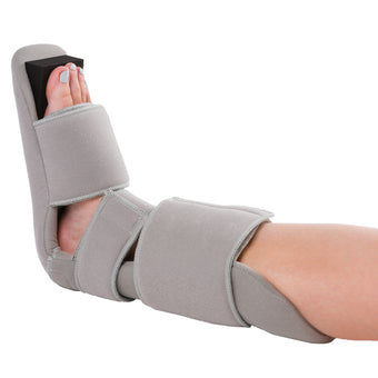 Padded 90 degree soft nighttime dorsiwedge boot splint