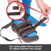 Adjustable Velcro strap accommodate swelling and bandaging
