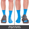 Post op shoe for toe and foot fractures can be worn on your right or left foot