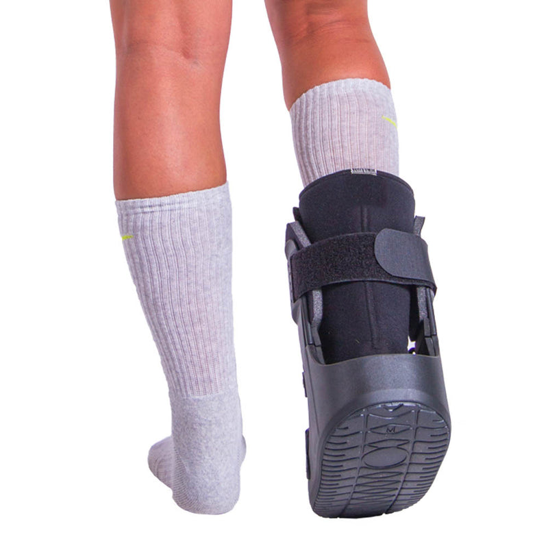 Boot can also help with fractured toes, sprained feet or ankles, plantar ulcers, and post bunionectomy