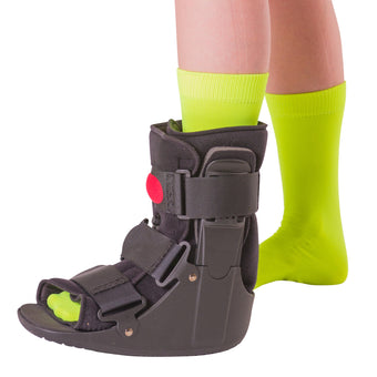 Orthopedic air walker boot cast for ankle sprains, fractures and Achilles tendonitis