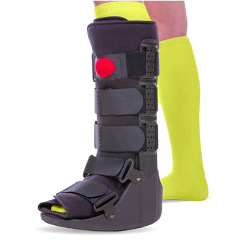 BraceAbility Tall Pneumatic Walking Boot for broken or sprained ankles