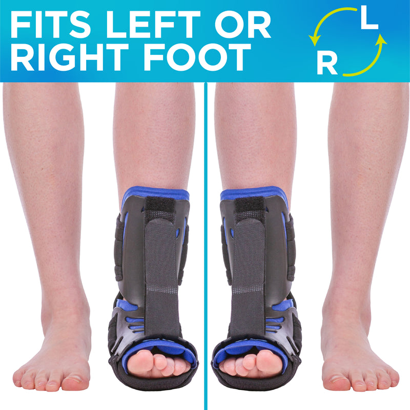 Use the night splint for heel spur on left or right foot for all night bracing