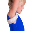 Soft collarbone brace for clavicle fractures fits toddlers, children, and teens