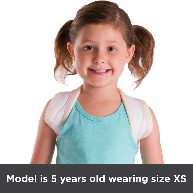 Model pictured is 5 years old and wearing a size XS