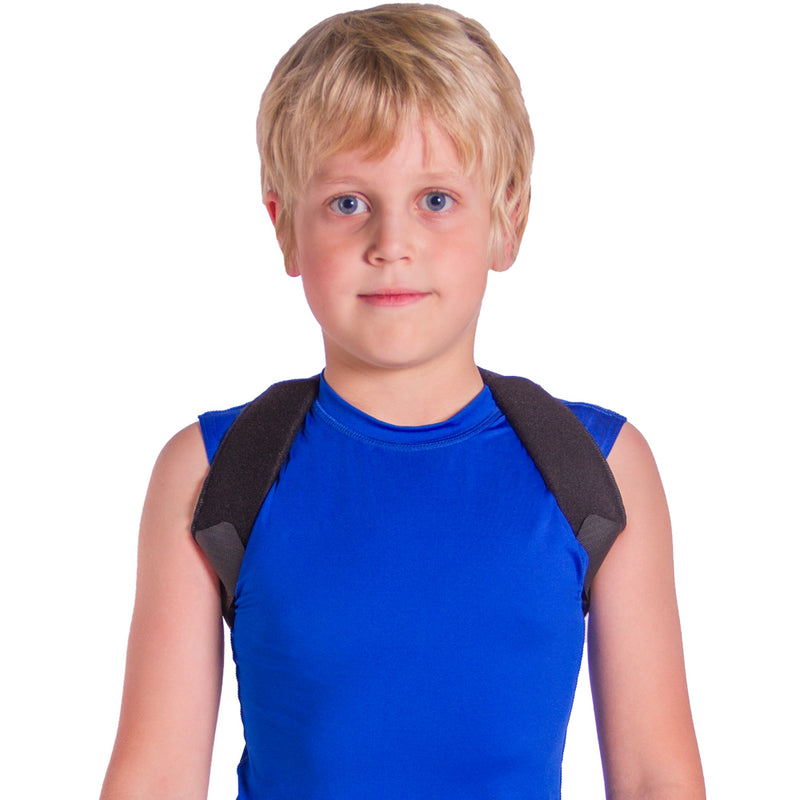 Fix your child's bad posture through upper back and shoulder support