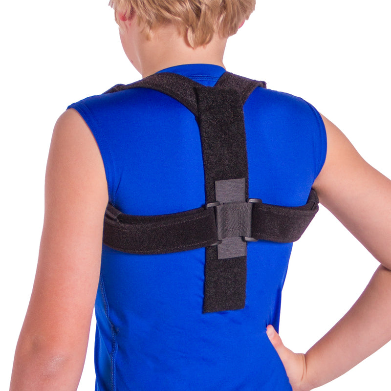 Kid's posture corrector back and shoulder brace for children