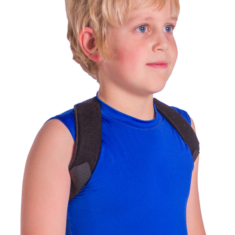 clavicle brace for a child or toddler helps treat broken or fractured collarbones