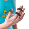 Buddy tape finger splint wraps for jammed, sprained, or dislocated fingers
