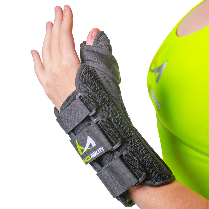 tendonitis thumb splint from braceability