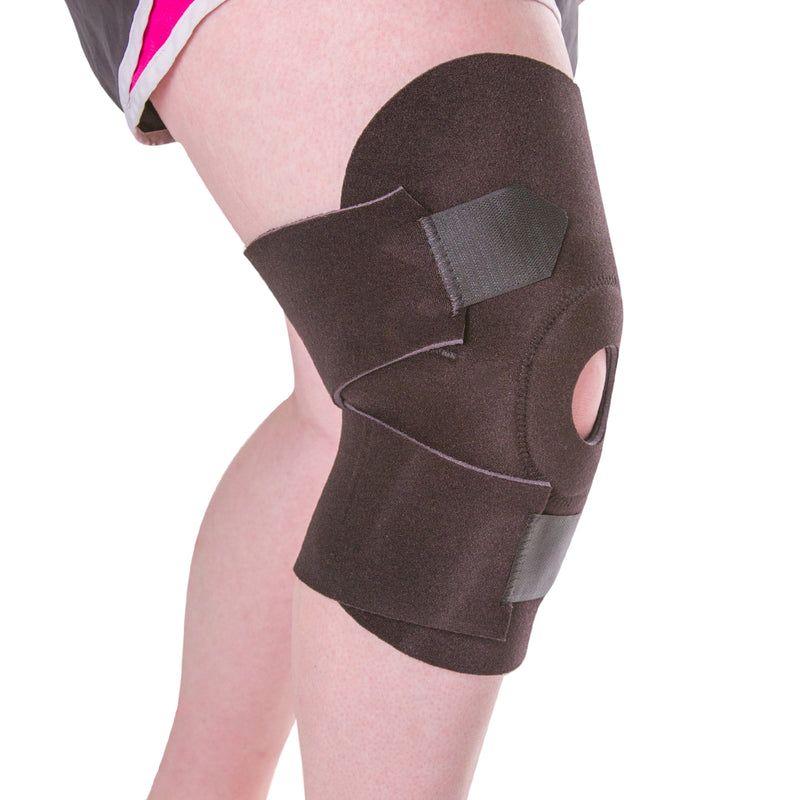 Plus size husky knee wrap for wide thighs and big legs