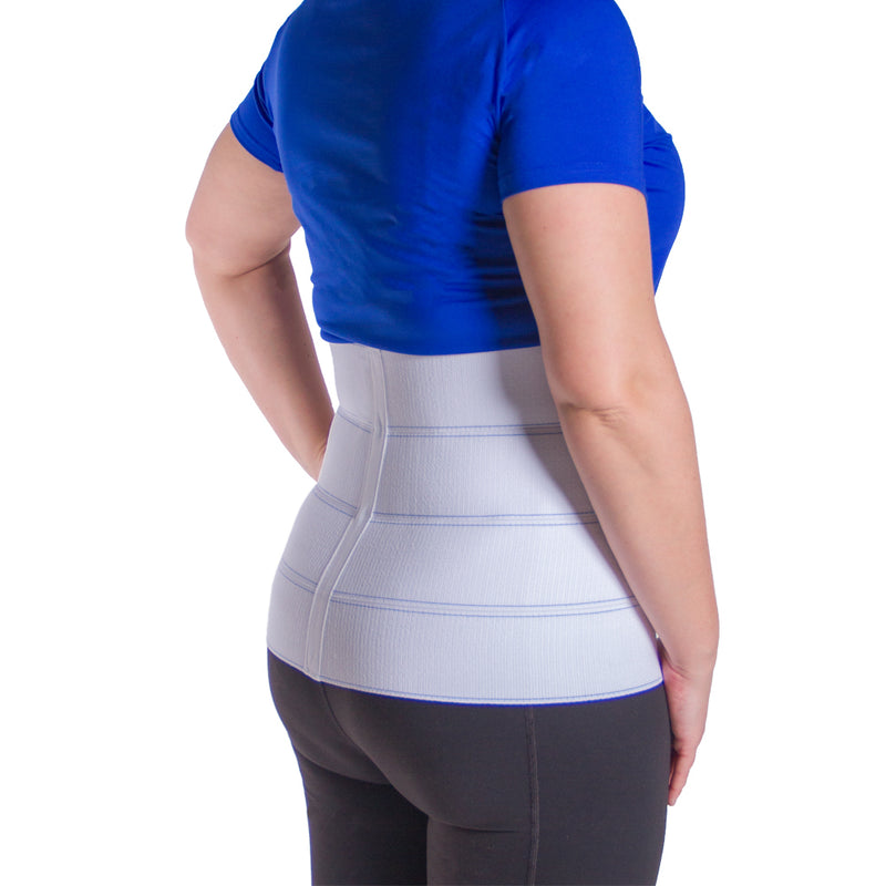 Plus size compression belt also helps treat back muscle tears and lumbar pain