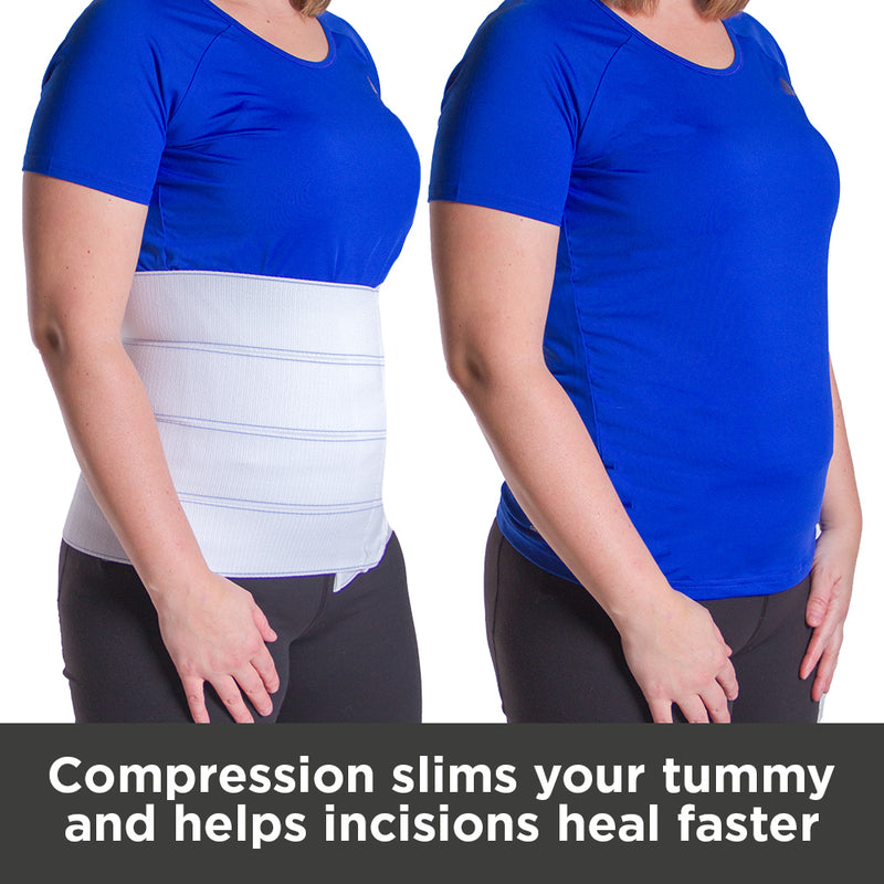 Compression slims your tummy and helps incisions heal faster after abdominal surgery