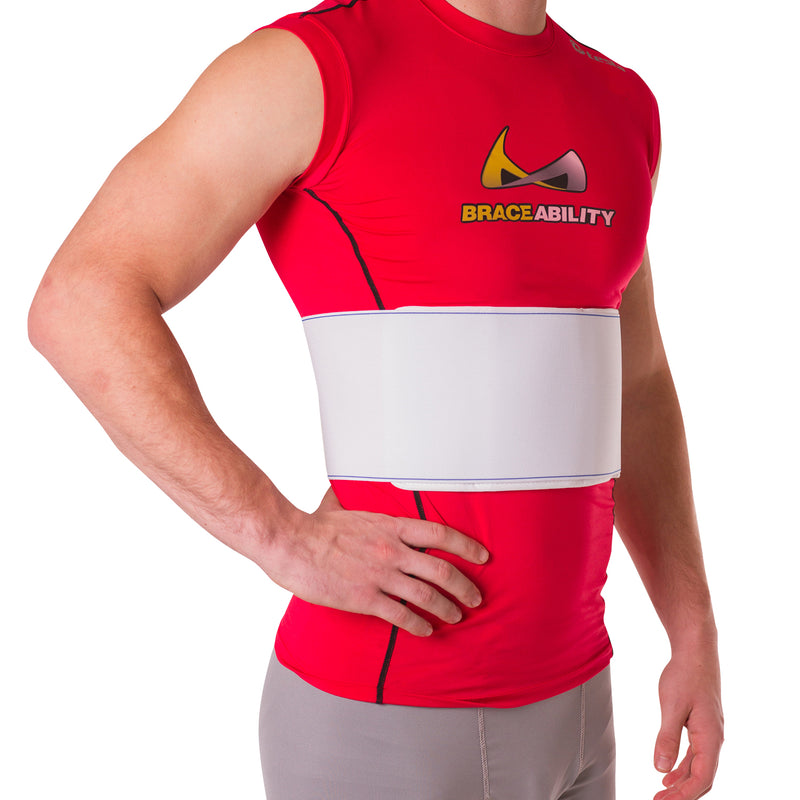 Rib injury wrap treatment belt for cracked bruised rib cage pain rib injury belt chest wrap for sore or bruised rib cage ccuart Images