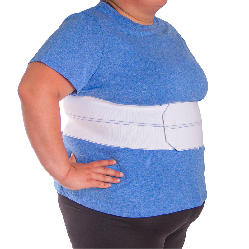 The plus size version works great for fractured rib care in both men and women