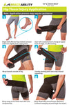 How to put on the hip and groin wrap instruction sheet