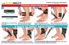 the instruction sheet for the daytime ankle brace for plantar fasciitis
