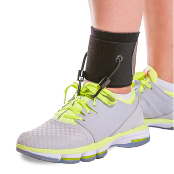 braceability soft afo drop foot ankle brace comes in a daytime and an at home style