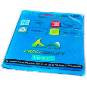 braceability reusable cold and hot therapy gel pack