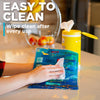 easy to clean ice and heat pad is easy to clean with a damp cloth