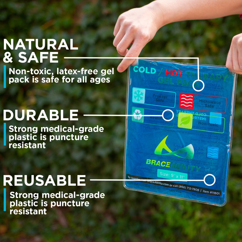 durable and reusable heat pack can be used as an ice bag