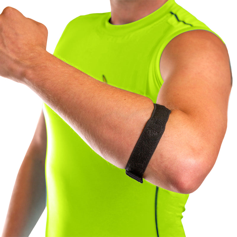 Epicondylitis brace for golfers and tennis elbow support