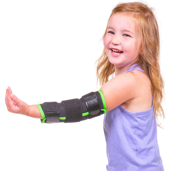 The BraceAbility Kids Thumb Sucking Guard prevents children from sticking their fingers or thumb in their mouth