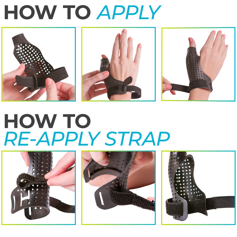 easy to put on thumb brace
