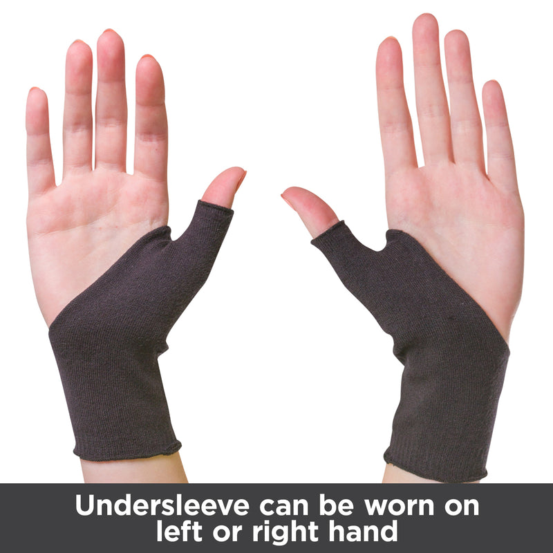 Undersleeve can be worn on your right or left hand