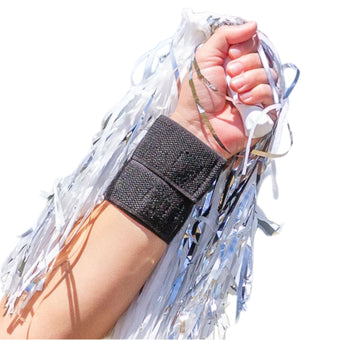 BraceAbility offers a black cheer and gymnast wrist brace for wrist injuries