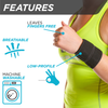 Thanks to its low-profile design the cheerleader wrist support is breathable and leaves your fingers free to use
