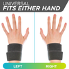 the cheerleading wrist support brace can be worn on your right or left hand