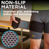 the non-slip material on the hip support wrap prevents sliding