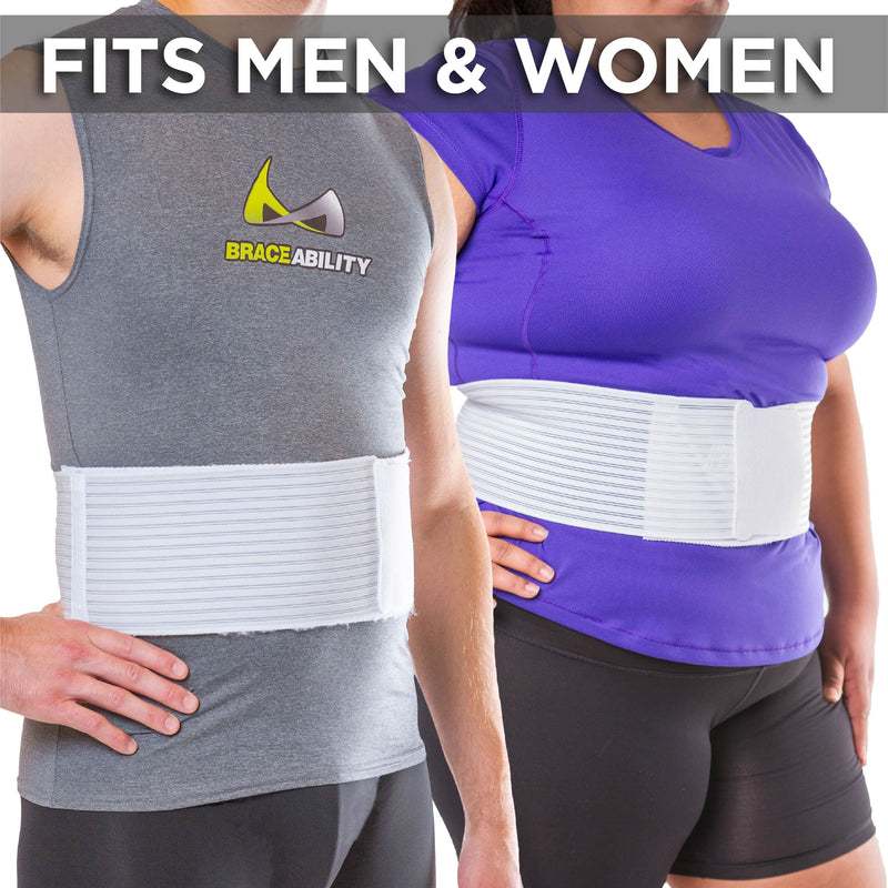 the hernia belt fits men and women