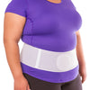 Plus size abdominal hernia support belt fits up to 60 inch waist circumferences