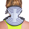 The back support of the cervical orthosis neck brace keeps your head in a healthy position