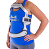 Spinal stenosis back brace is lightweight thanks to its aluminum frame