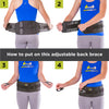 Adjustable Lower Back & Spine Pain Lumbosacral Corset Brace