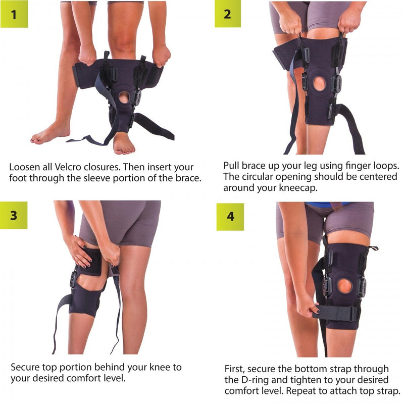 26ec057dbe To apply this hyperextended knee brace follow these 4-step instructions