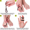 To apply these buddy tape wraps follow these 4-step instructions
