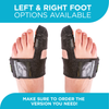 The turf toe support comes in right foot and left foot options so make sure to order the correct one