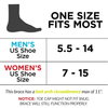the sizing chart for the turf toe brace fits womens size size to mens size 14