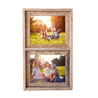 Rustic Farmhouse Signature Collage Frame | 2 Opening
