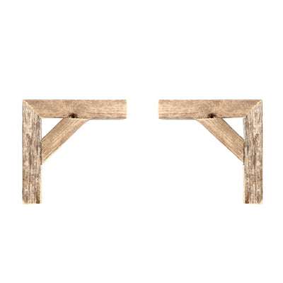 Set of 2 Rustic Farmhouse Corbels