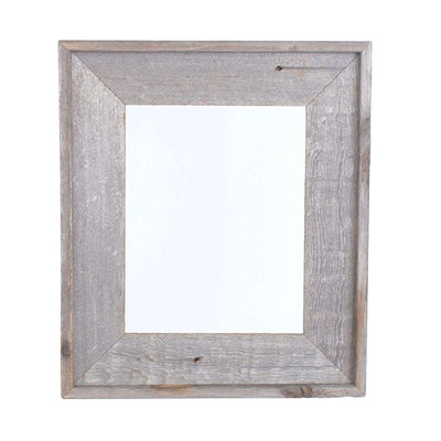 Rustic Farmhouse Open Artisan Picture Frame | Weathered Gray